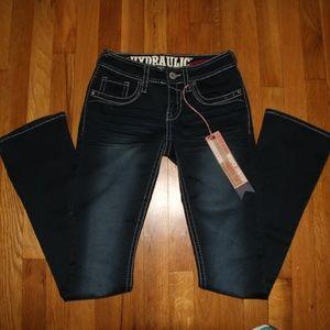 b47bbdd2510 Hydraulic Lola Curvy Micro Boot Jeans Women's 1/2